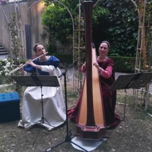 Federica Baronti flauto, Diana Colosi arpa