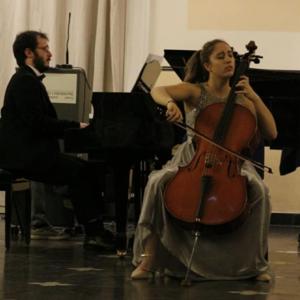 Anastasia D'Amico violoncello, Pietro Lio pianoforte
